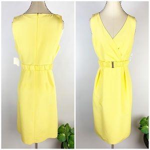 New - Halogen, Lemon Drop - Yellow Sheath Dress